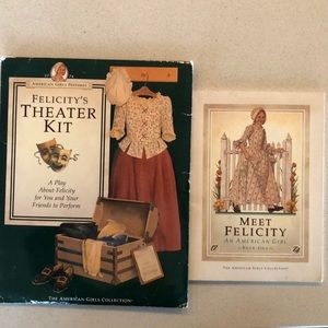 Felicity's Theater Kit and  Meet Felicity Book.